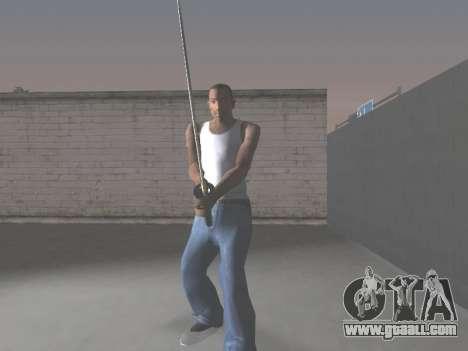 CSO Katana for GTA San Andreas forth screenshot