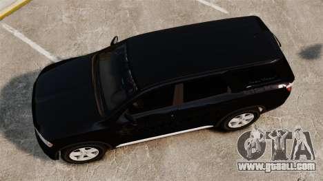 Dodge Durango 2013 Sheriff [ELS] for GTA 4 right view