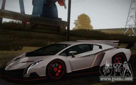 Lamborghini Veneno LP750-4 2013 for GTA San Andreas