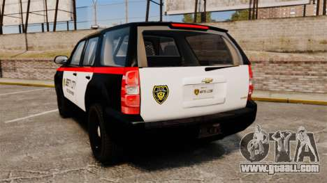 Chevrolet Tahoe 2008 LCPD STL-K Force [ELS] for GTA 4 back left view