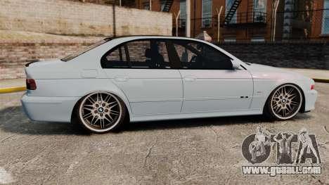 BMW M5 E39 2003 for GTA 4 left view