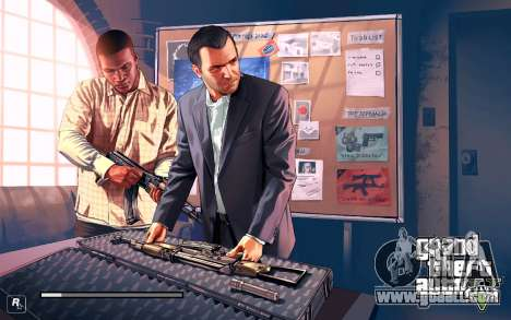 GTA V to SA: LoadScreens for GTA San Andreas forth screenshot