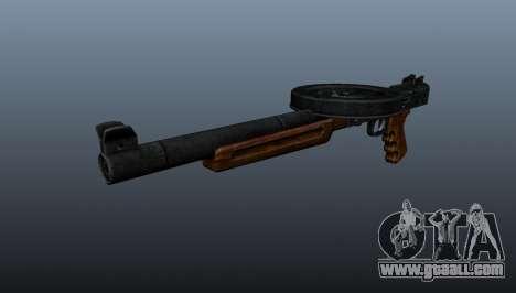 The Silenced SMG submachine gun for GTA 4