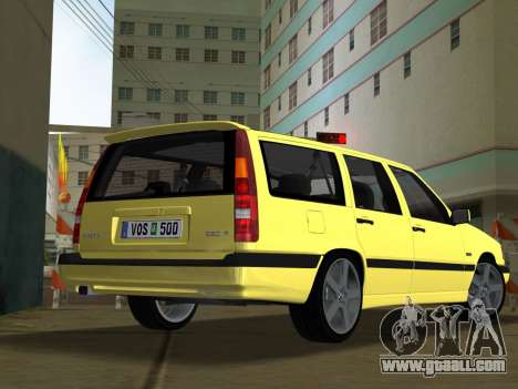 Volvo 850 R Estate for GTA Vice City left view