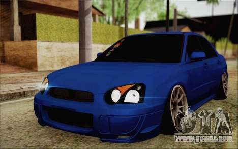 Subaru Impreza JDM for GTA San Andreas
