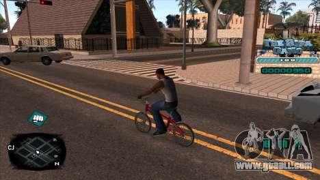 C-HUD Rifa Gang for GTA San Andreas