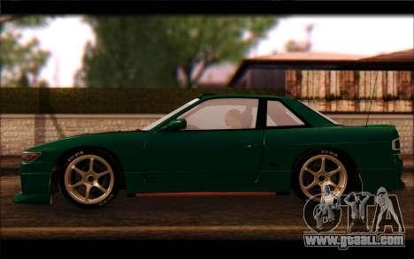 Nissan Silvia Drift for GTA San Andreas left view