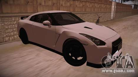 Nissan GT-R SpecV Ultimate Edition for GTA San Andreas back left view