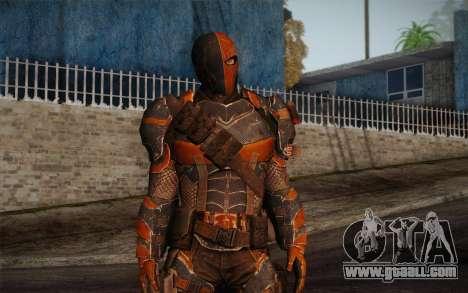 Deathstroke from Batman: Arkham Origins for GTA San Andreas second screenshot