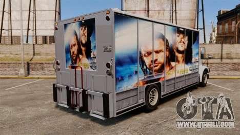 Stars of wrestling on Benson for GTA 4 right view
