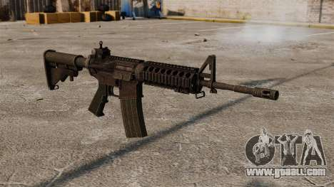 Semi-automatic AR-15 rifle for GTA 4