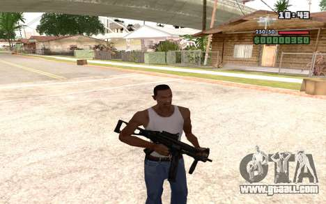 UMP 45 for GTA San Andreas fifth screenshot
