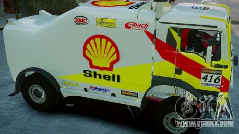 MAN TGA Dakar Truck Shell for GTA 4 right view