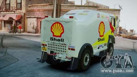 MAN TGA Dakar Truck Shell for GTA 4 back left view