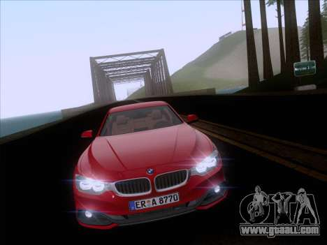 BMW F32 4 series Coupe 2014 for GTA San Andreas inner view