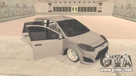 Ford Fiesta Rocam Edit for GTA San Andreas left view