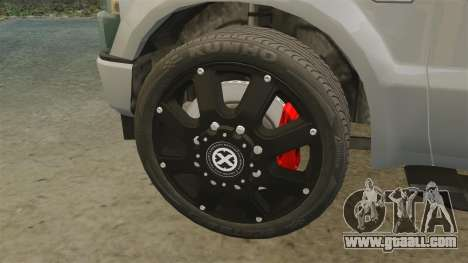 Ford F-350 Pitbull v2.0 for GTA 4 inner view