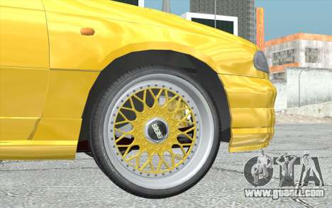Opel Astra F GSI BBS Style for GTA San Andreas back left view