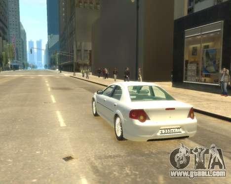 GAZ Volga Sajber for GTA 4 left view