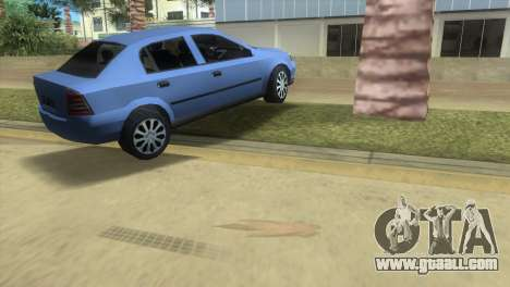 Opel Astra 4door 1.6 TDi Sedan for GTA Vice City right view
