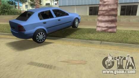 Opel Astra 4door 1.6 TDi Sedan for GTA Vice City right view