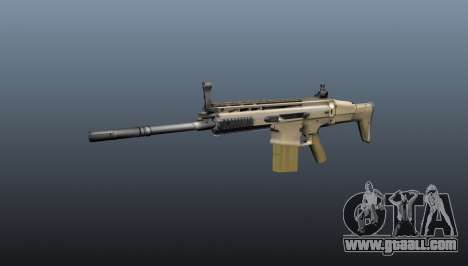 Automatic rifle FN SCAR-H for GTA 4