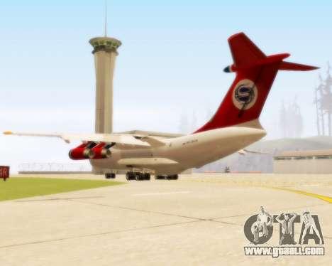 Il-76td Samara for GTA San Andreas right view