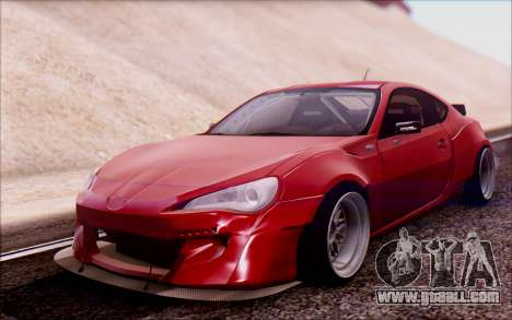 Toyota GT86 Rocket Bunny v2 for GTA San Andreas