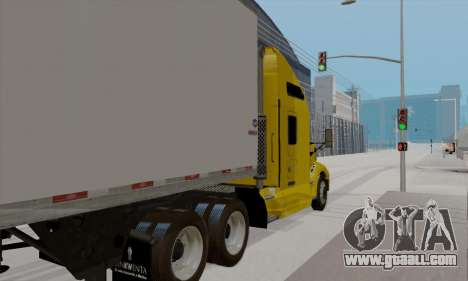 Kenworth T660 2011 for GTA San Andreas back left view