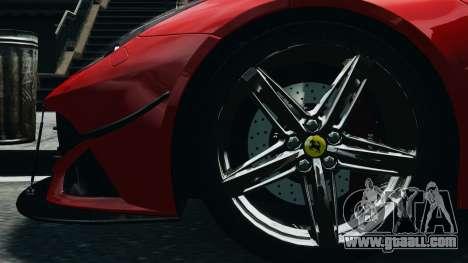 Ferrari F12 Berlinetta 2013 Modified Edition EPM for GTA 4 back view