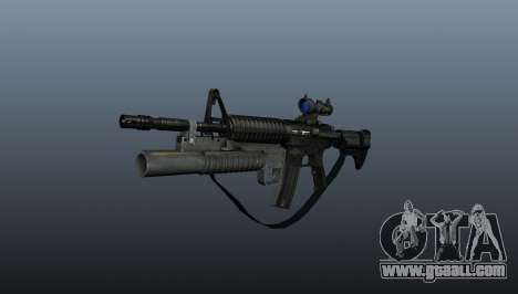 Automatic carbine M4A1 v2 for GTA 4