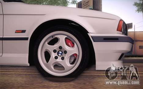 BMW E34 Alpina for GTA San Andreas back left view