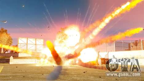 The new setting of fires and explosions for GTA 4 third screenshot