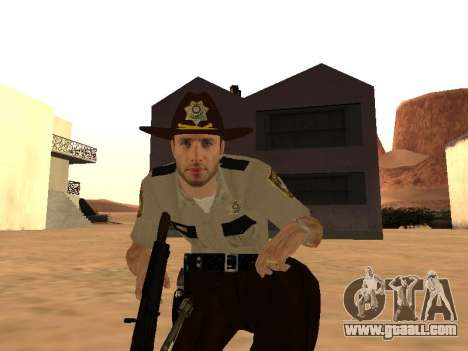 Rick Grimes for GTA San Andreas forth screenshot
