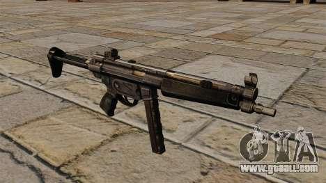 MP5 submachine gun for GTA 4