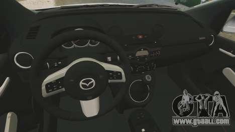 Mazda 2 for GTA 4 inner view