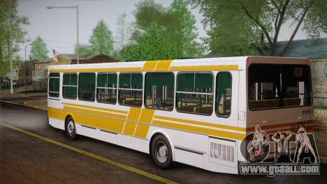 LIAZ 5256.00 Skin-Pack 1 for GTA San Andreas bottom view