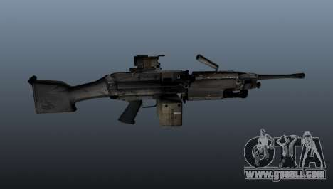 The M249 light machine gun for GTA 4 third screenshot