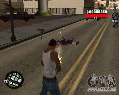 C-Hudik for GTA San Andreas