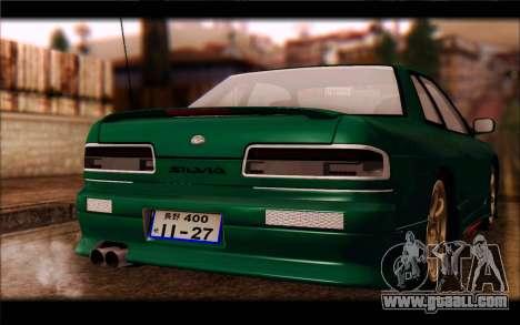 Nissan Silvia Drift for GTA San Andreas right view