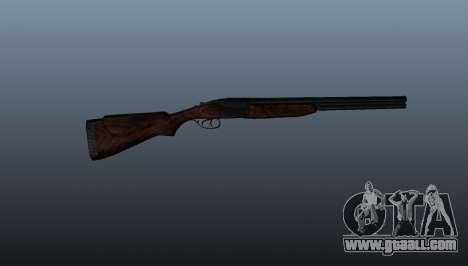 Double-barreled shotgun ТОЗ-34 for GTA 4 third screenshot
