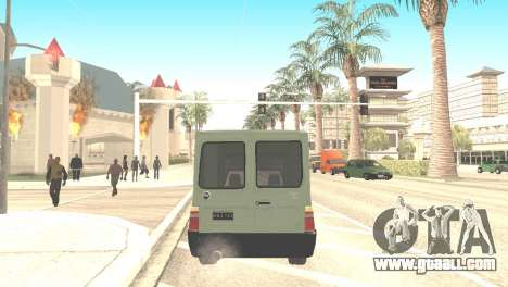 Fiat Fiorino Fire 07 for GTA San Andreas left view