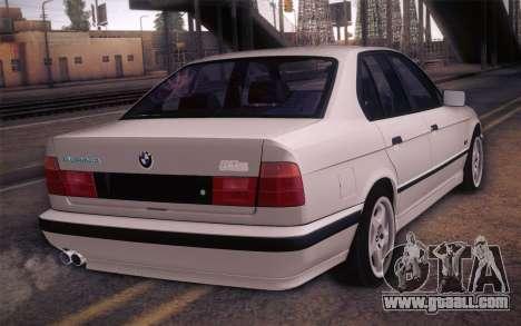 BMW E34 Alpina for GTA San Andreas left view