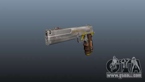 Ivory Pistol for GTA 4