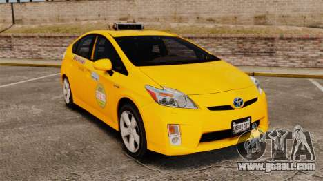 Toyota Prius 2011 Adelaide Independant Taxi for GTA 4