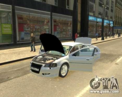 GAZ Volga Sajber for GTA 4 back left view