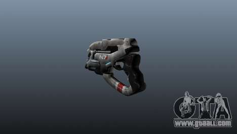 N7 Eagle Pistol for GTA 4 second screenshot