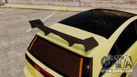 Extreme Spoiler Adder 1.0.7.0 for GTA 4 sixth screenshot