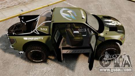 Ford F150 SVT 2011 Raptor Baja [EPM] for GTA 4 inner view