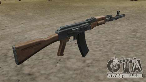 AK-74 stock for GTA 4 second screenshot